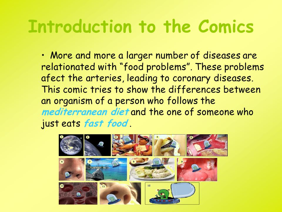 Introduction to the Comics