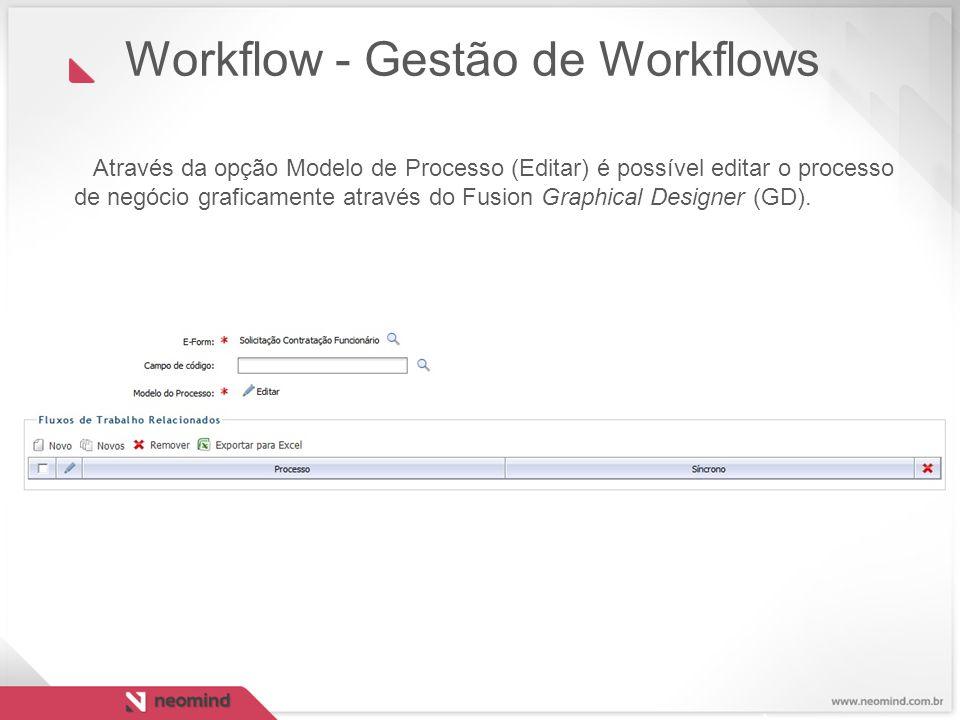Workflow - Gestão de Workflows