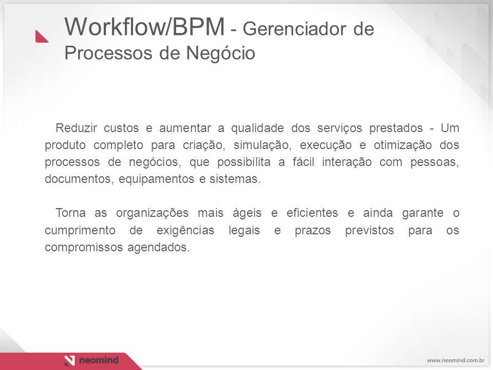 Workflow/BPM - Gerenciador de