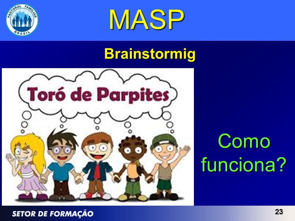 MASP Brainstormig Como funciona 23