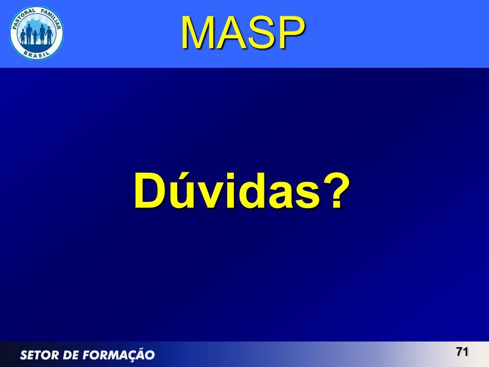 MASP Dúvidas 71