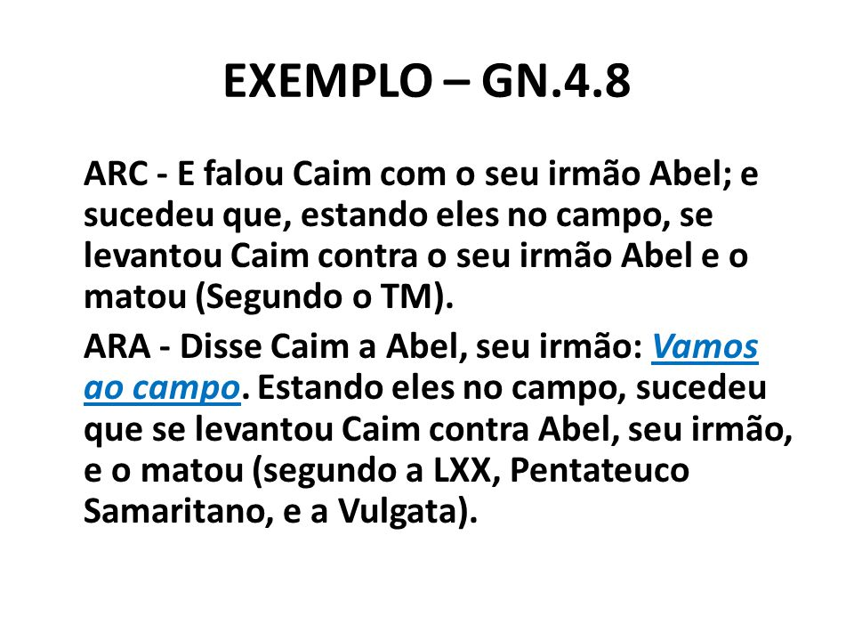 EXEMPLO – GN.4.8