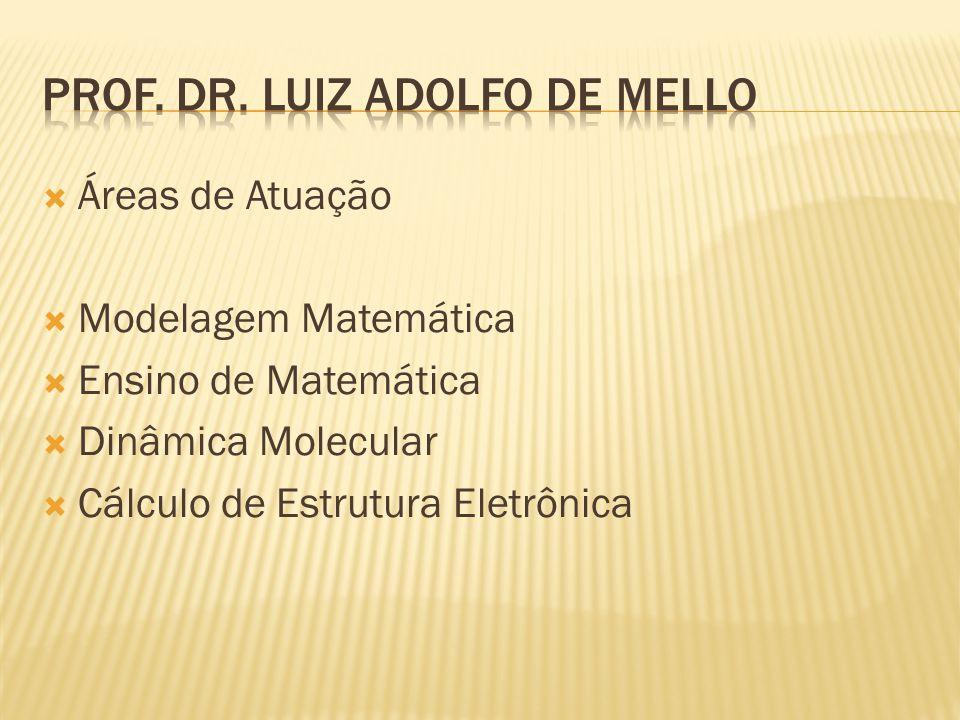 Prof. Dr. Luiz Adolfo de Mello