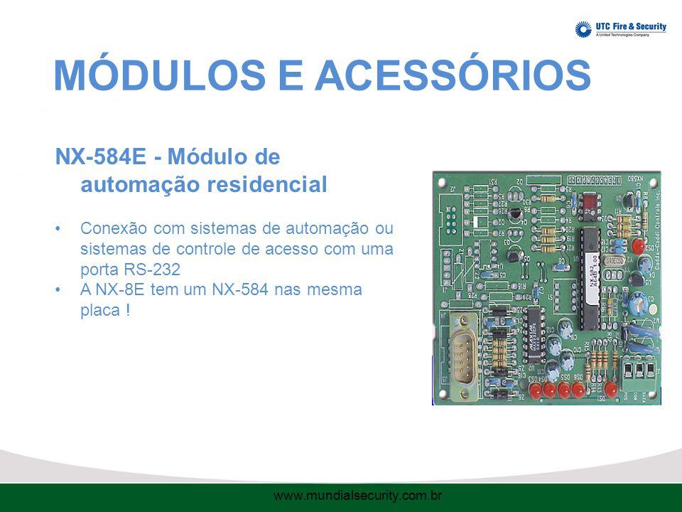 MÓDULOS E ACESSÓRIOS NX-584E - Módulo de automação residencial