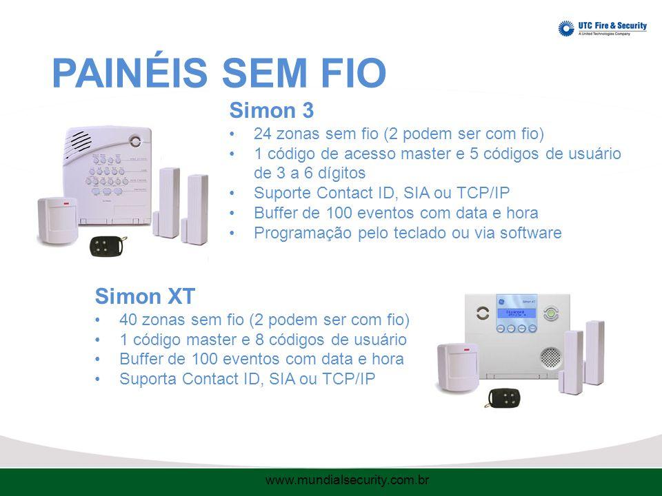 PAINÉIS SEM FIO Simon 3 Simon XT