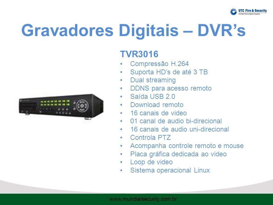 Gravadores Digitais – DVR's