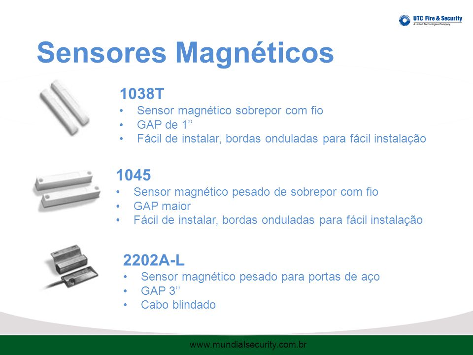 Sensores Magnéticos 1038T 1045 2202A-L