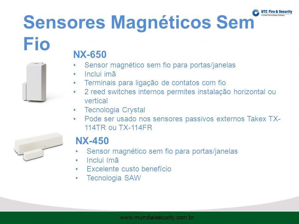 Sensores Magnéticos Sem Fio