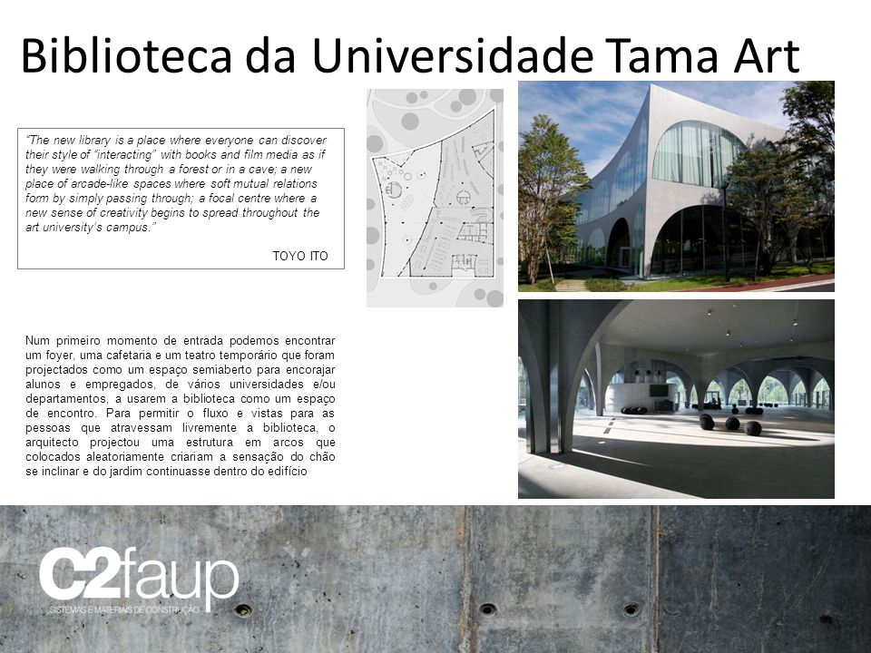 Biblioteca da Universidade Tama Art