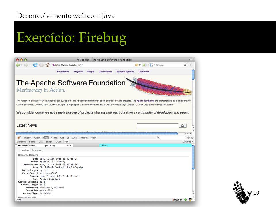 Desenvolvimento web com Java