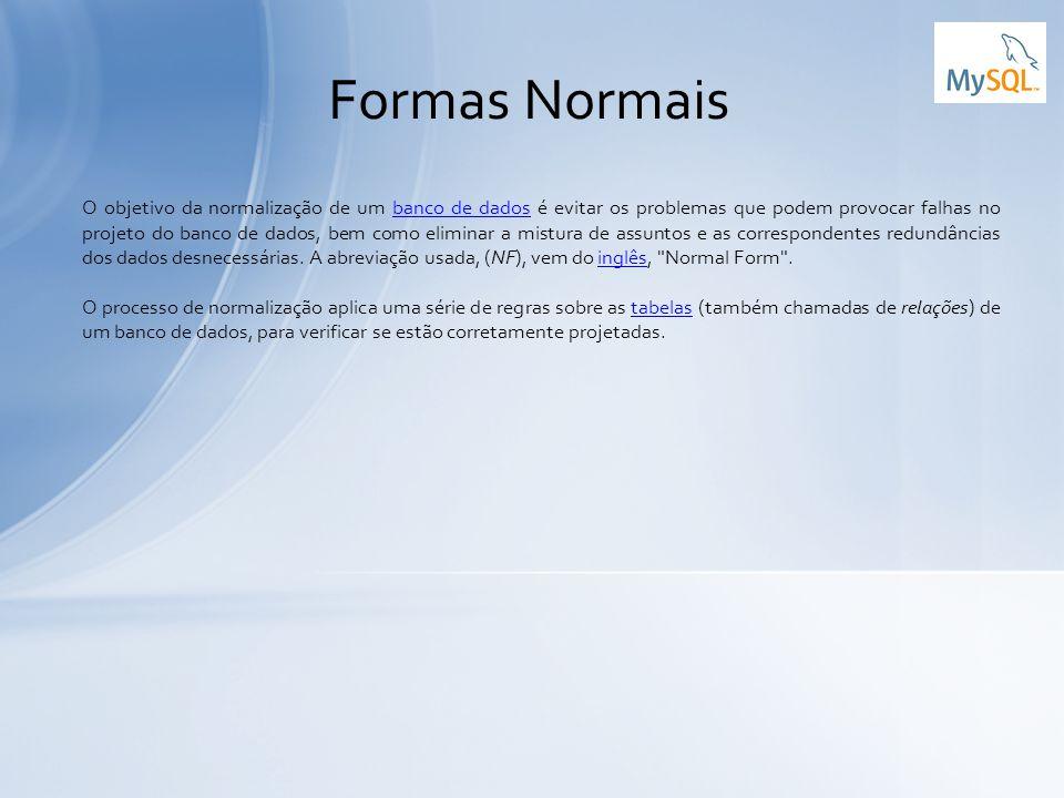 Formas Normais