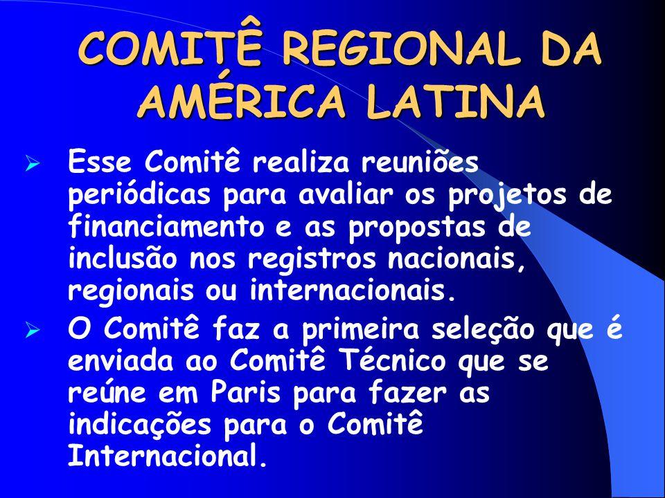 COMITÊ REGIONAL DA AMÉRICA LATINA