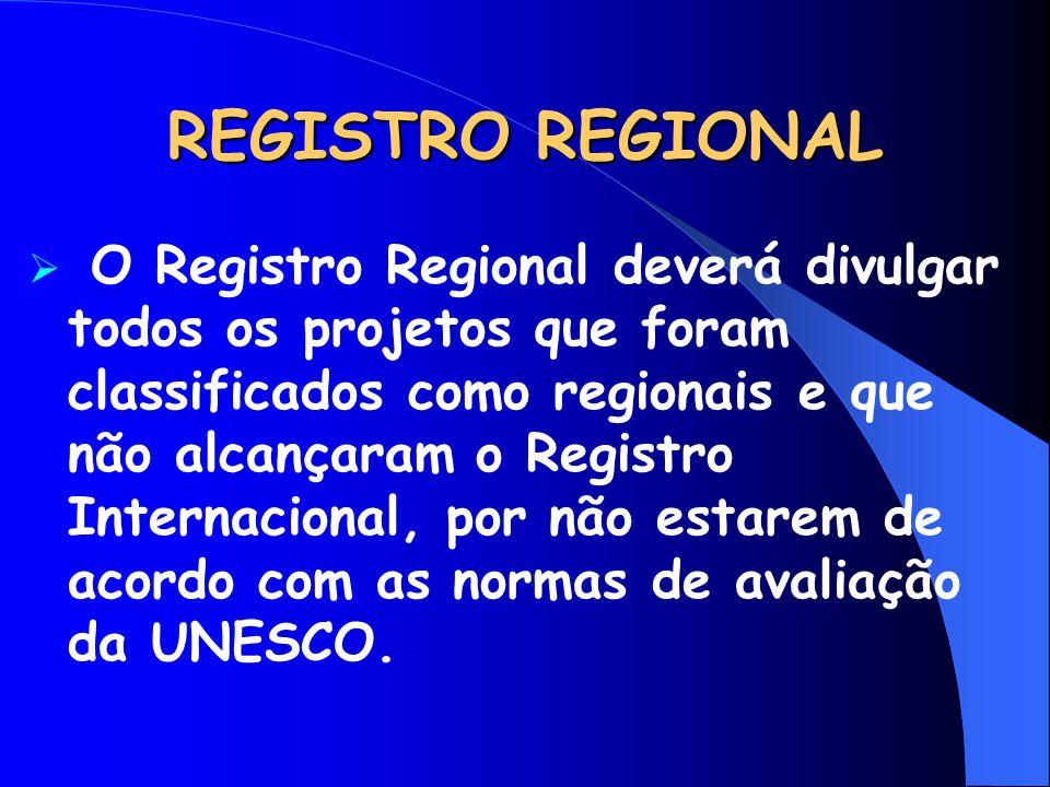 REGISTRO REGIONAL