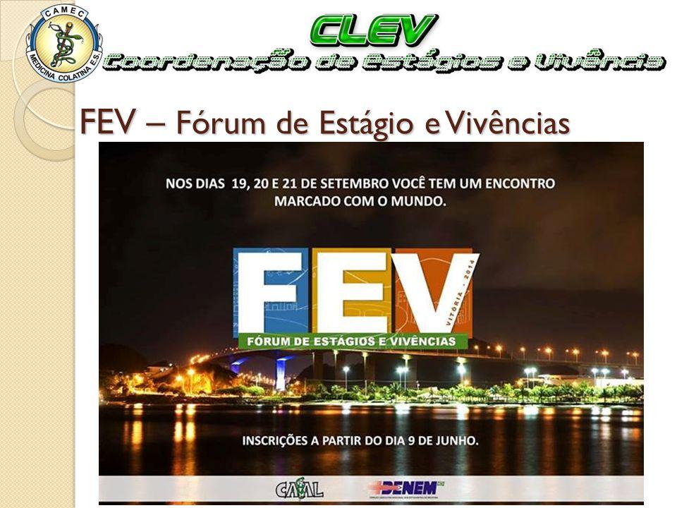 FEV – Fórum de Estágio e Vivências