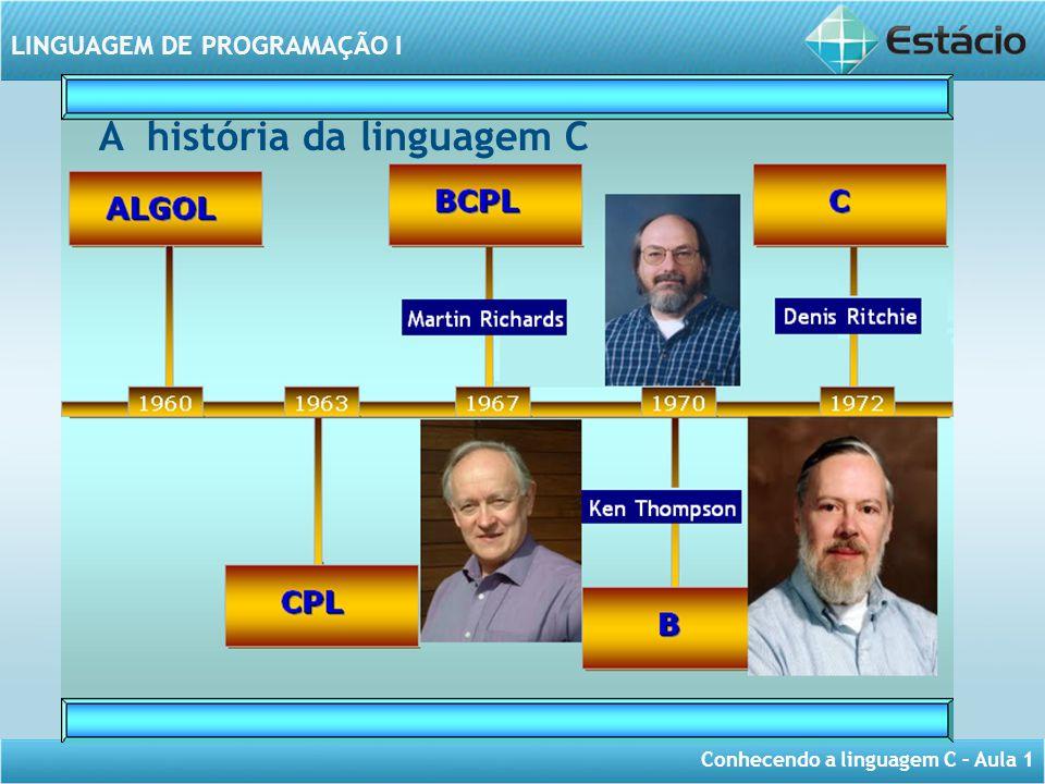 A história da linguagem C