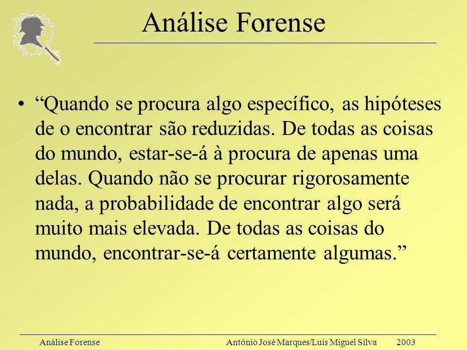 Análise Forense