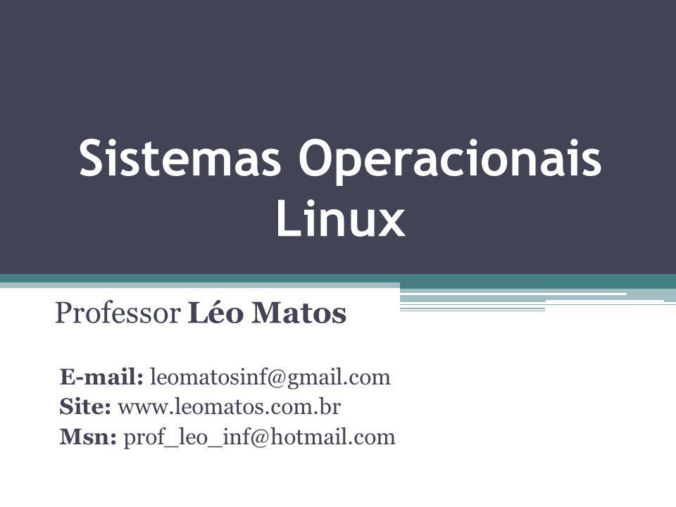 Sistemas Operacionais Linux