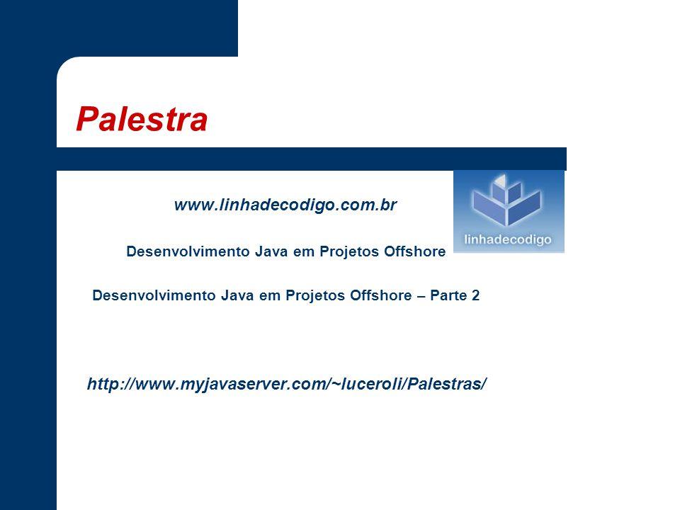 Palestra www.linhadecodigo.com.br