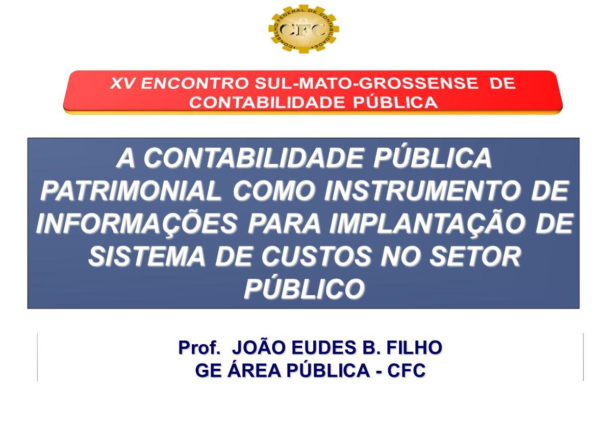 XV ENCONTRO SUL-MATO-GROSSENSE DE CONTABILIDADE PÚBLICA