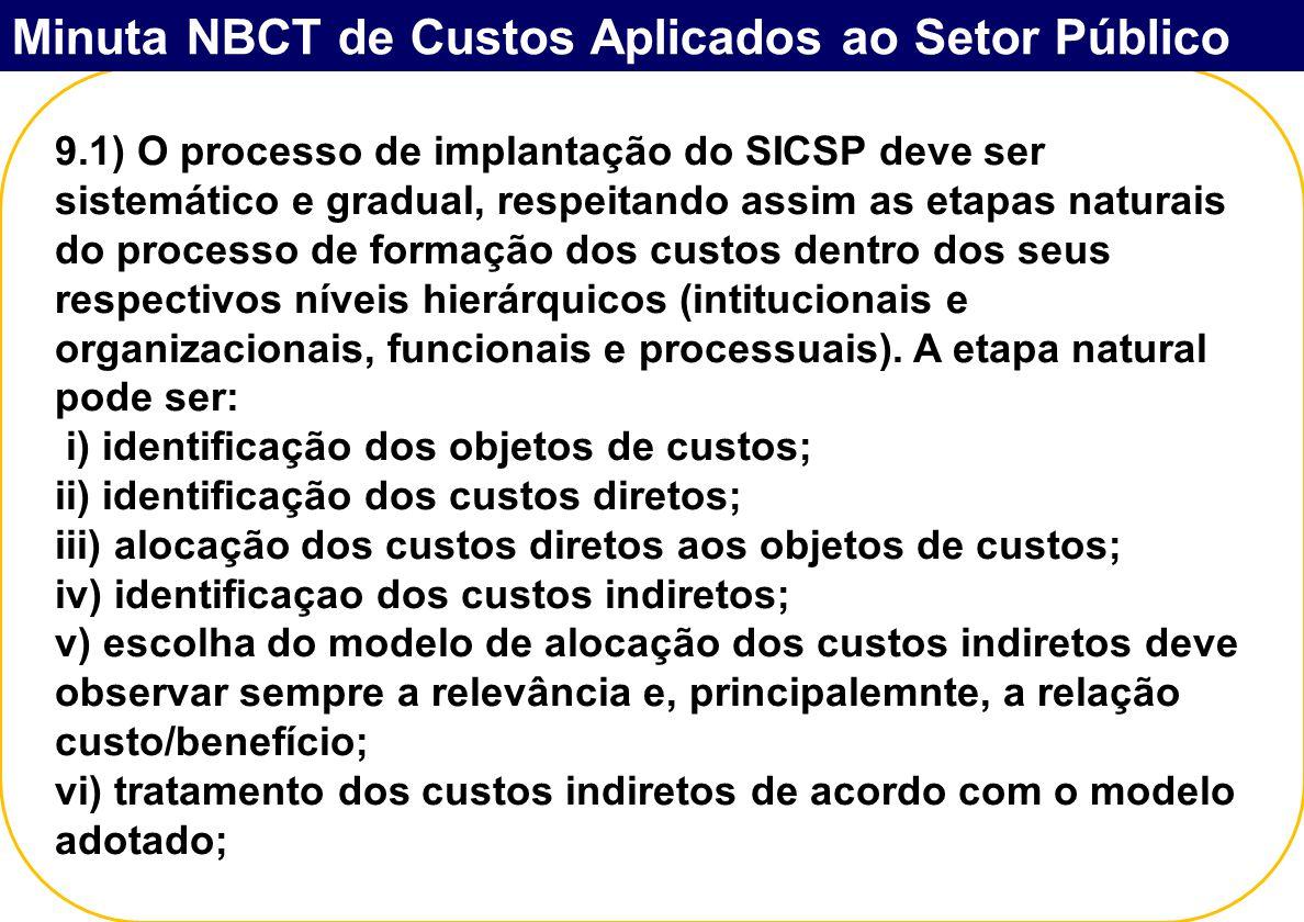 Minuta NBCT de Custos Aplicados ao Setor Público