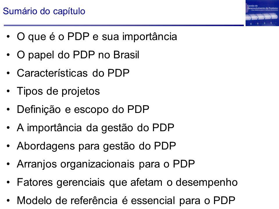O que é o PDP e sua importância O papel do PDP no Brasil