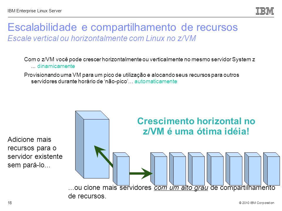 Crescimento horizontal no z/VM é uma ótima idéia!