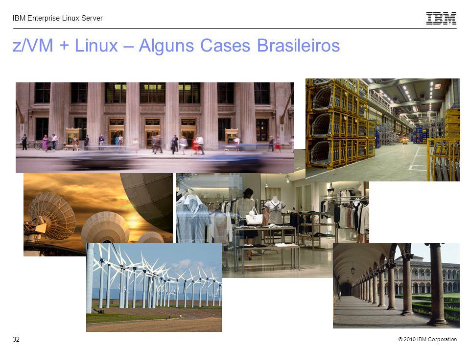 z/VM + Linux – Alguns Cases Brasileiros