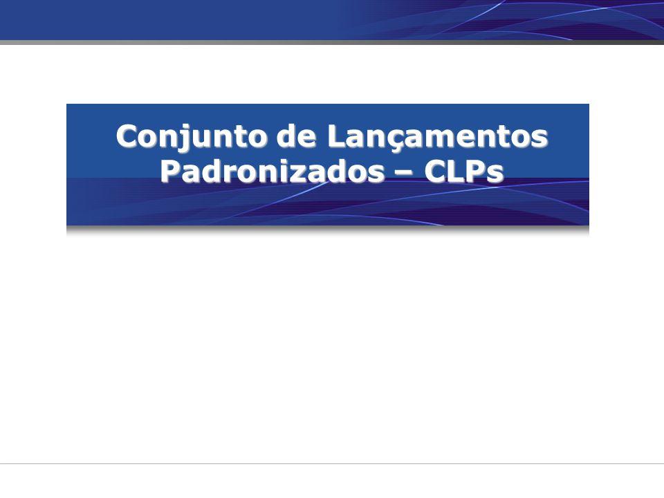 Conjunto de Lançamentos Padronizados – CLPs