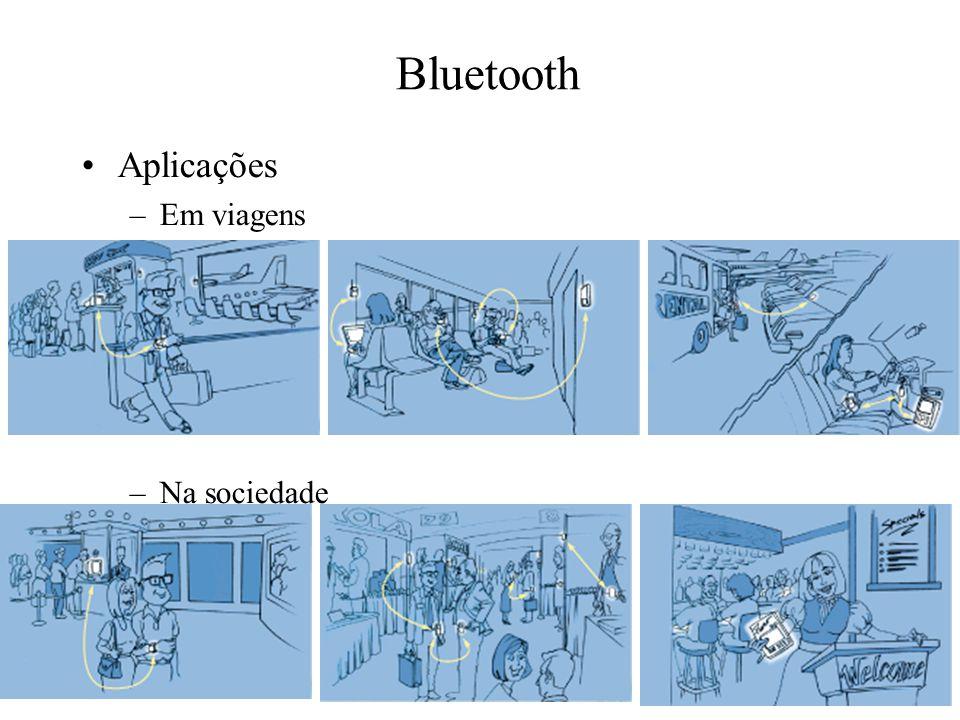 Bluetooth Aplicações Em viagens Na sociedade