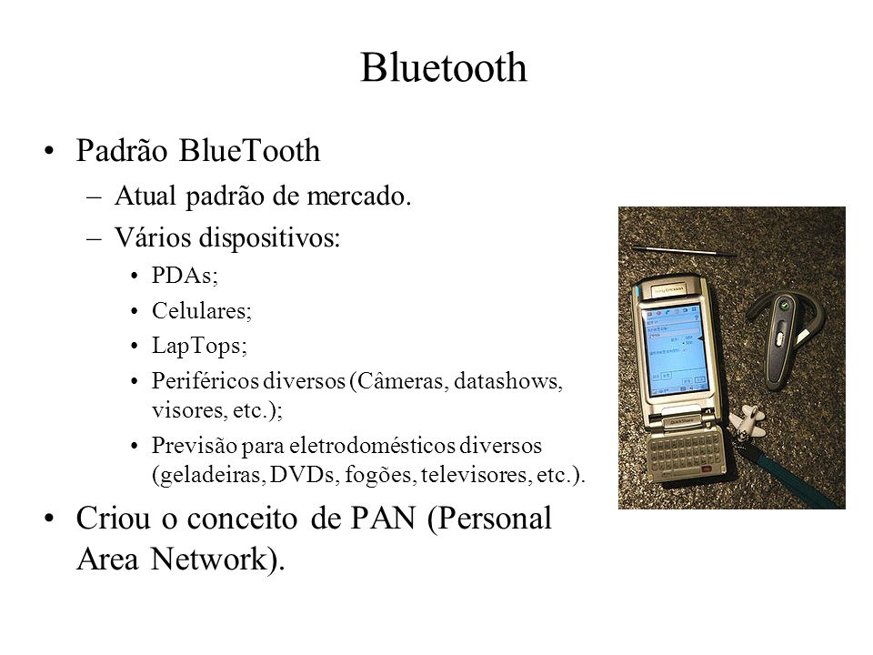 Bluetooth Padrão BlueTooth