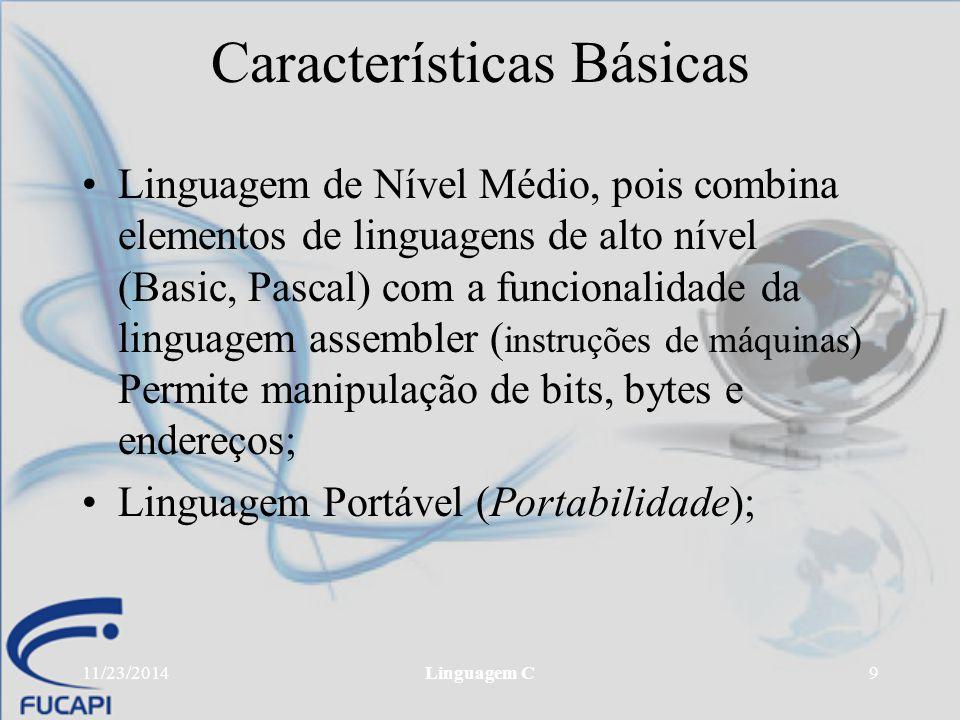 Características Básicas