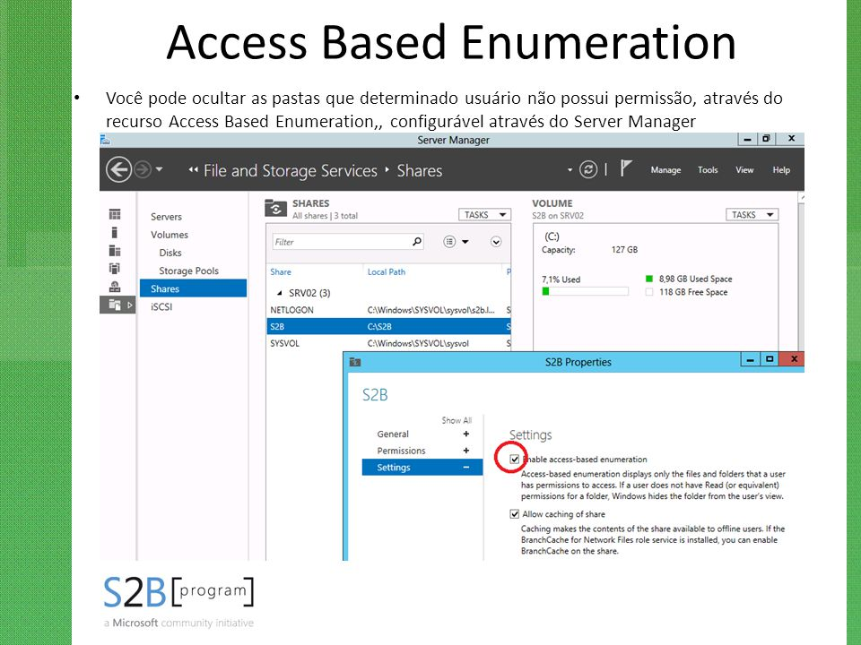 Access Based Enumeration