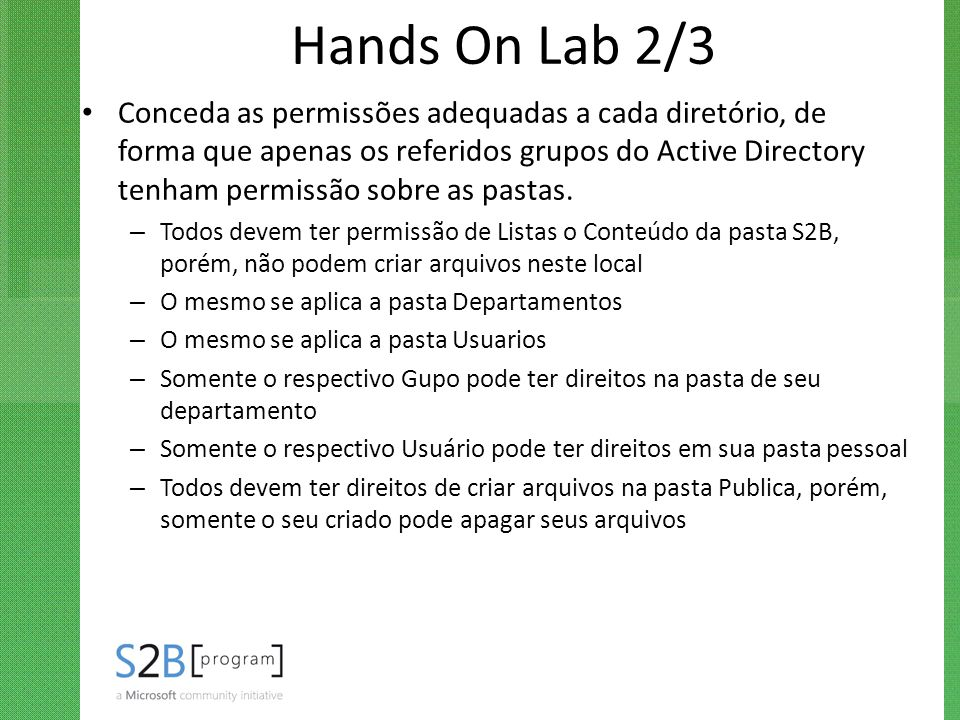 Hands On Lab 2/3