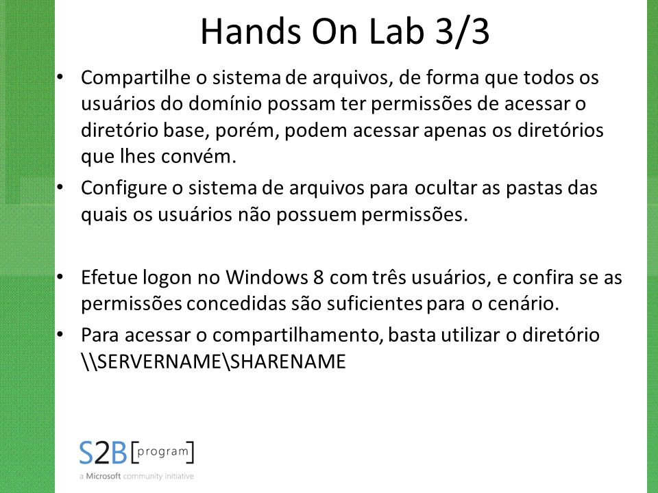 Hands On Lab 3/3