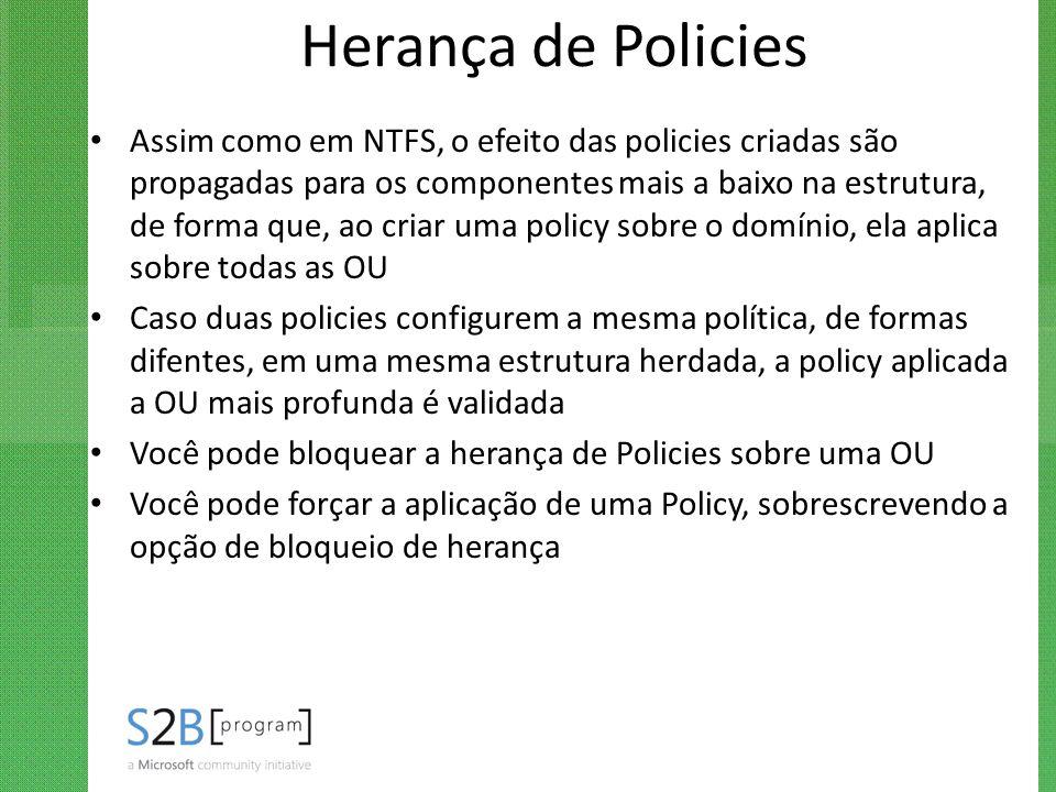 Herança de Policies