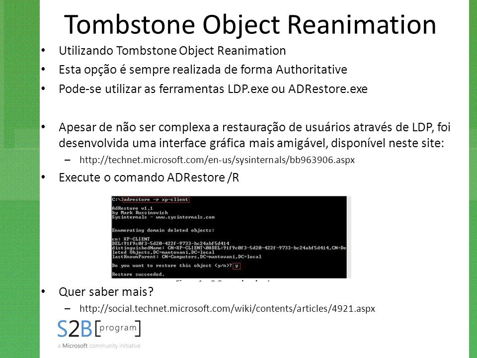 Tombstone Object Reanimation