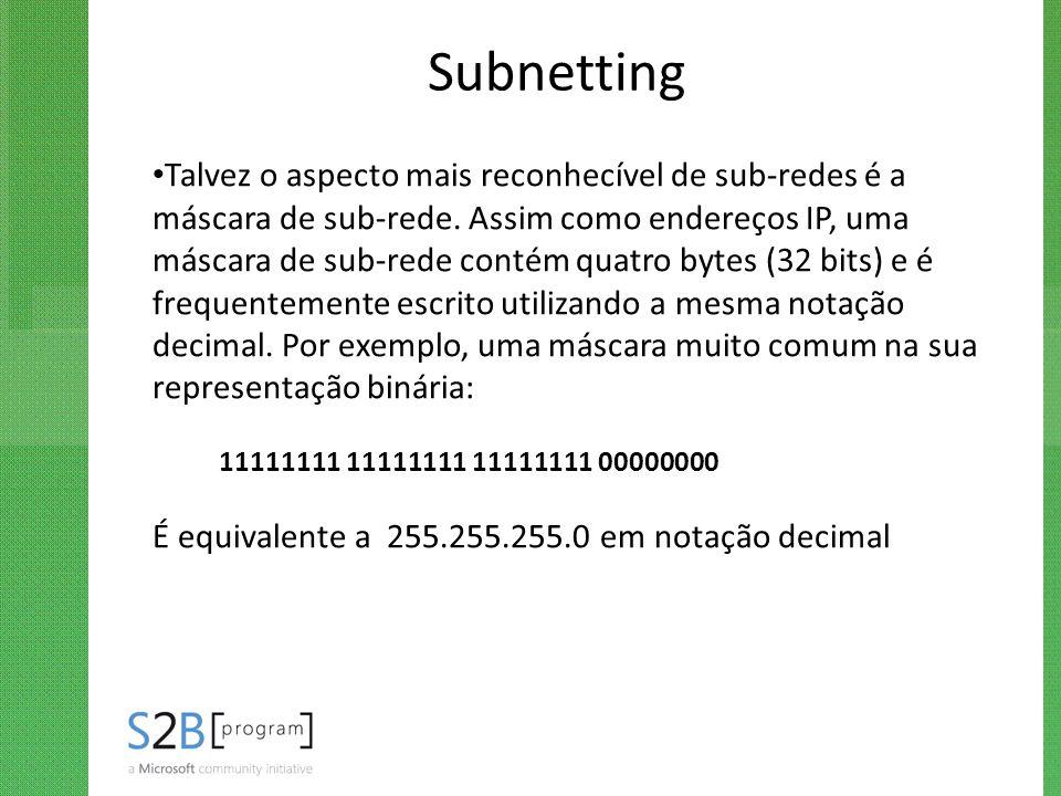 Subnetting