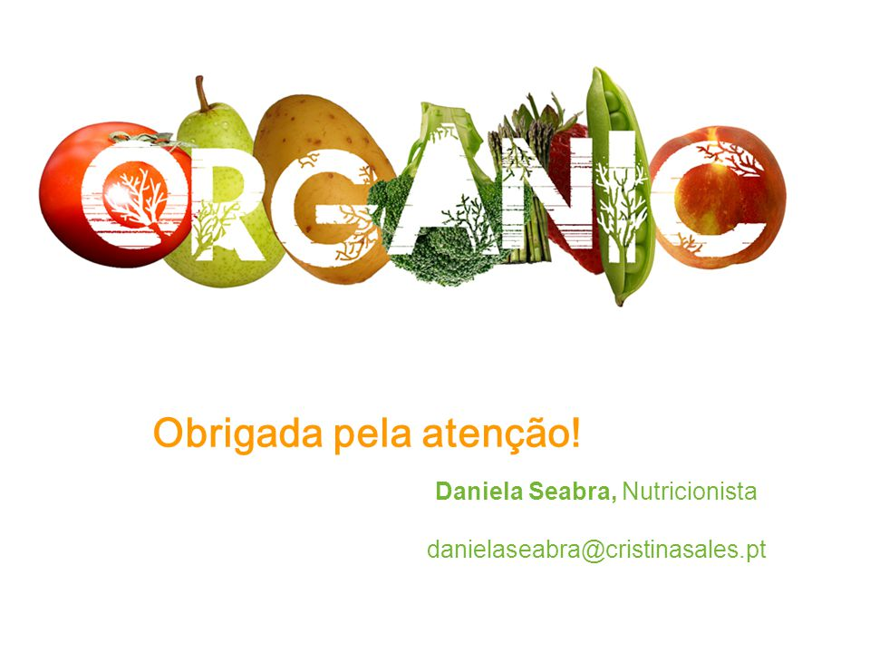 Daniela Seabra, Nutricionista