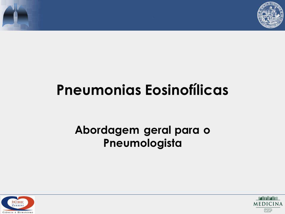 Pneumonias Eosinofílicas