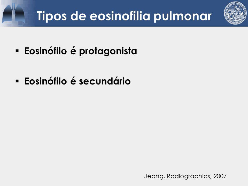 Tipos de eosinofilia pulmonar