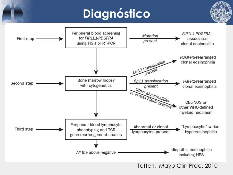 Diagnóstico Tefferi. Mayo Clin Proc, 2010