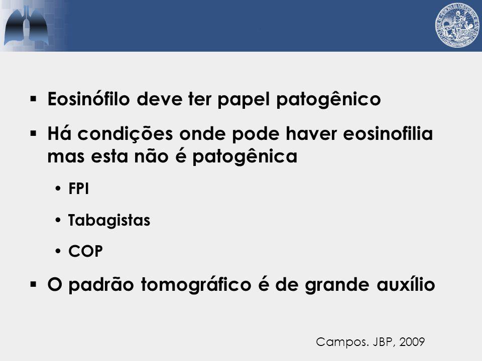Eosinófilo deve ter papel patogênico