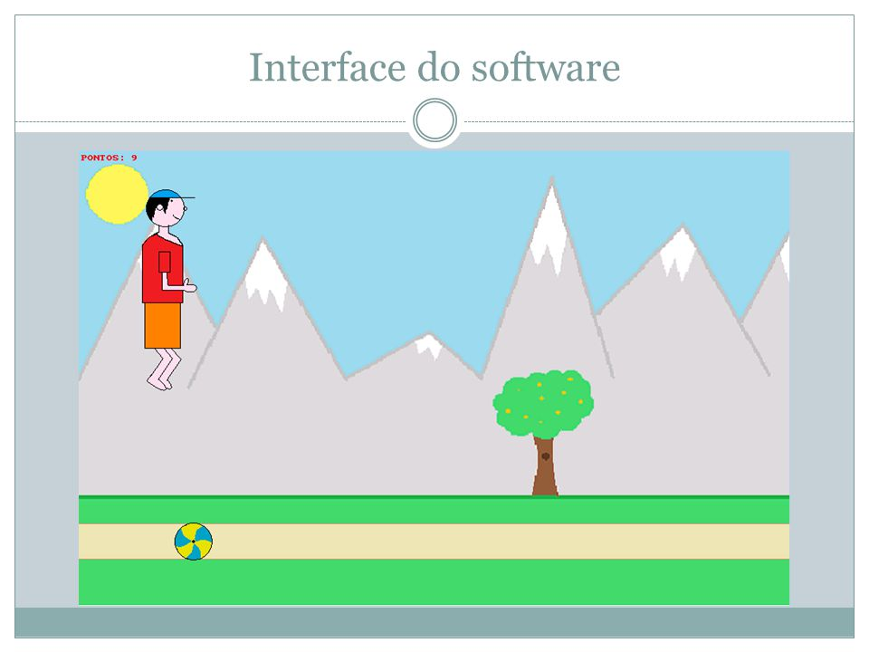 Interface do software