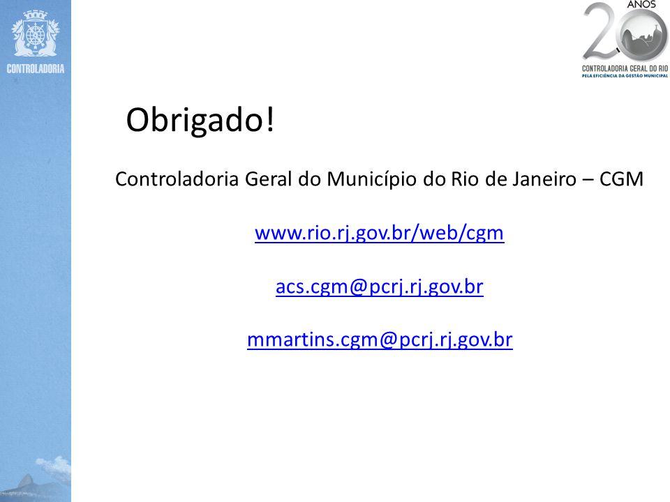 Controladoria Geral do Município do Rio de Janeiro – CGM