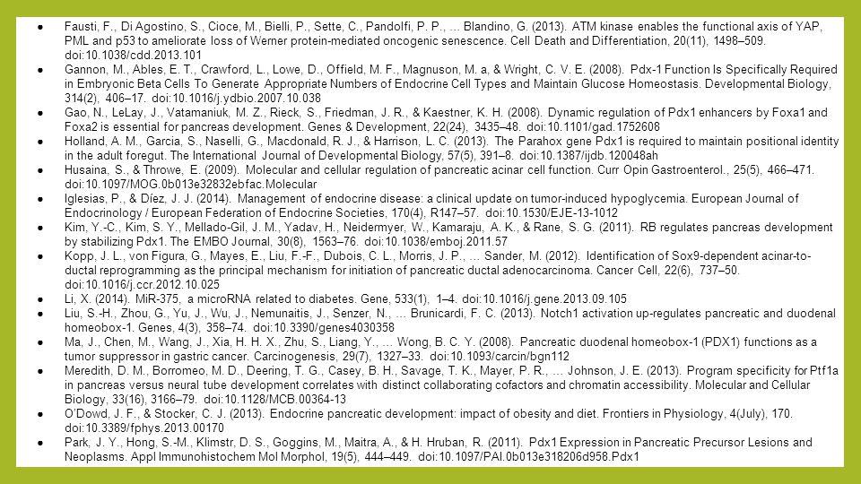 Fausti, F. , Di Agostino, S. , Cioce, M. , Bielli, P. , Sette, C