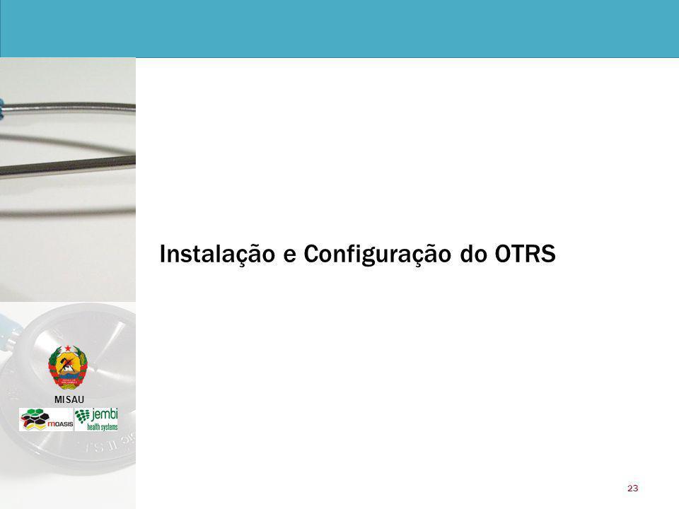 Instalação e Configuração do OTRS