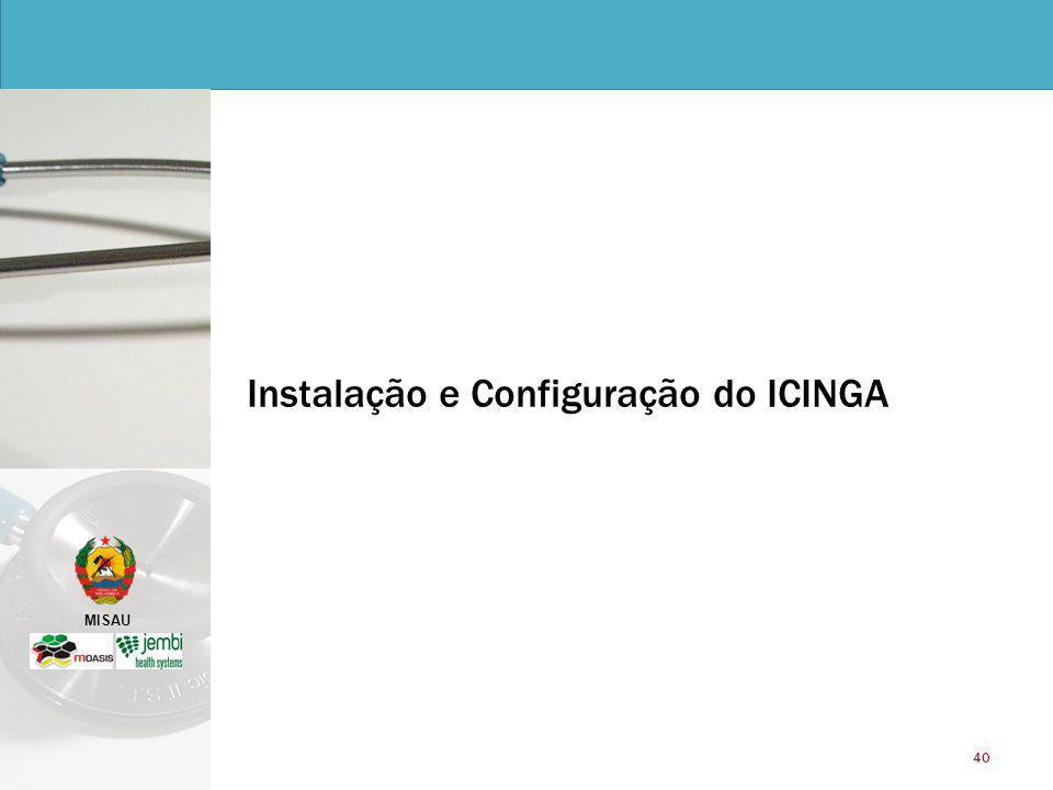 Instalação e Configuração do ICINGA