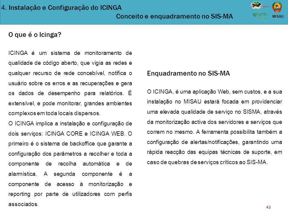Enquadramento no SIS-MA