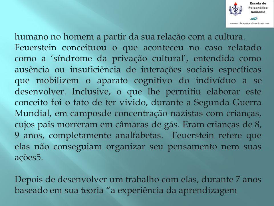 humano no homem a partir da sua relação com a cultura.