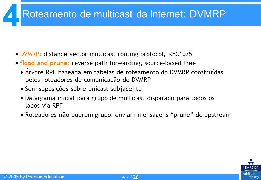 Roteamento de multicast da Internet: DVMRP